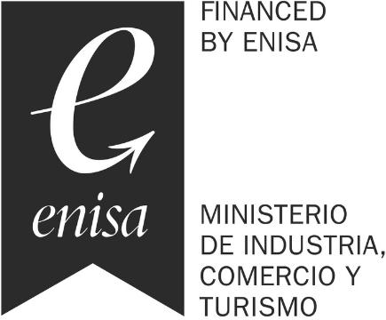FINANCED BY ENISA MINISTERIO DE INDUSTRIA COMERCIO Y TURISMO